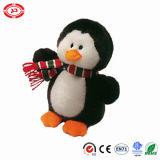 Jouet mignon de Noël de beau de Velboa de l'hiver de pingouin chapeau mou d'usure