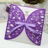Karten-neue Entwurfs-Höhlung-Gruß-Papierkarte/Einladungs-Karte/Hochzeits-Karte