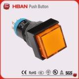 Heißer Verkauf! 12mm runder orange LED heller Schalter 12 Volt-