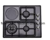 Gasbrenner-Küche-Gerät (JZS4004AEC SCHWARZES)