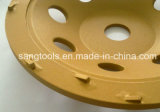 구체적인 지면 갈기를 위한 PCD 컵 바퀴