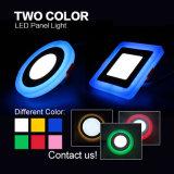 Luz de painel do diodo emissor de luz da cor da forma redonda dois de boa qualidade
