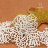 새로운 디자인 코드 폴리에스테 크로셰 뜨개질 레이스