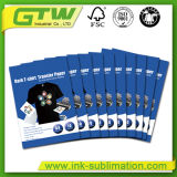 Couche de revêtement en PU de haute qualité, papier de transfert T-Shirt Dark Cutting facile pour un tissu 100% coton