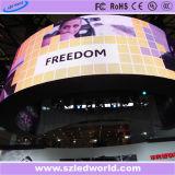 Innen-SMD farbenreicher örtlich festgelegter hohe Helligkeit LED-Bildschirmanzeige-Zeichen-Vorstand für das Bekanntmachen (P3, P4, P5, P6)