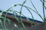Arame de alho de Concertina, Cerca de arame de barbatana, Arame farpado