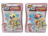 O carro Railway do brinquedo do enigma do carro do brinquedo dos miúdos mini enrola acima o carro (H6029014)