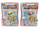 Kids Toy Car Puzzle Toy Autocarro ferroviário Mini Wind Up Car (H6029014)