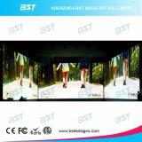 Schermo di visualizzazione dell'interno del LED dell'affitto di P3mm HD per lo studio della priorità bassa di fase/TV