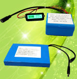 18650 12V 28.6ahのEツールのための再充電可能なリチウム電池のパック