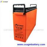 Batería terminal delantera recargable, batería Telecom 12V 200ah