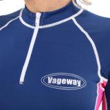 Lycra 2 조각 경솔한 가드, 수영복, 스포츠 착용, 파도타기를 하는 한 벌 & 급강하 잠수용 고무옷