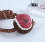 Haustier-Zubehör-Hundeseil-Spielzeug mit Tennis-Kugel (KT0005)