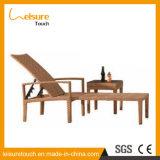 최고 Handmade 등나무 Sunbed Lounger 수영풀 가구 라운지용 의자