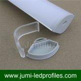 Perfil de la esquina del aluminio LED