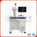 máquina de la marca del laser de la fibra de 10With20W Mopa para la marca de placas de acero para la impresión del metal