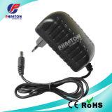 12V 1.5A AC DC adaptador de corriente del enchufe VDE