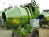 Mezclador concreto móvil/movible de la mezcladora diesel Jzc350