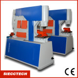 Siecc Q35y - 25 Hydraulic Ironworker Metal Plate Iron Worker with Punch/Shear/Combined Function