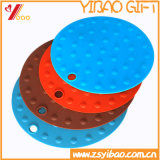 Non-Slip Colorful Customed High Quality Silicone Mat with Coaster (YB-HR-22)