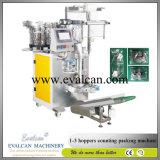 Fijación automática, equipos de recuento de la máquina de embalaje para el embalaje a granel