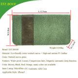 Caja del teléfono móvil de la célula de la carpeta de la PU para el caso del tirón del cuero del iPhone