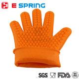 Hitzebeständiger Silikon-Ofen-Handschuh-Küche-Gitter-Handschuh