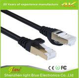 Blaues Ethernet-Kabel 6FT der Farbe Belüftung-Katze-6