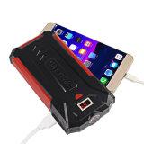 Paquete externo de la batería del cargador de Ravpower 10000mAh de la salida 3-Port de la batería portable de la potencia (entrada de información 2.4A, con la pantalla del LCD, batería de alta densidad del Li-Polímero