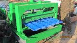 Azulejo de material para techos esmaltado nueva máquina 2017 que hace la máquina