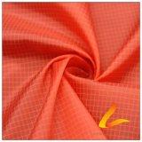 agua de 50d 320t y de la ropa de deportes tela punteada perla tejida chaqueta al aire libre Viento-Resistente 100% de la pongis del poliester del telar jacquar abajo (53237F)