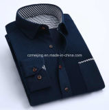 Drei Kordsamt-Hemden der Farben-Männer