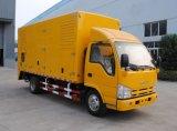 jogo de gerador Diesel silencioso do veículo móvel da potência 260-400kw