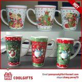 De Promotie Ceramische Mok van Kerstmis met Aangepaste Af:drukken