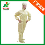 Indumento antistatico dell'abito, vestiti da lavoro del locale senza polvere ESD