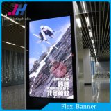 Banner flexível retroiluminado para matérias-primas de PVC para exposições de caixas de luz