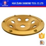 Колесо чашки Huazuan 6 PCD меля для конкретного пола