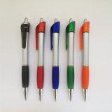 2016 تصميم جديدة قلم بلاستيكيّة مع مطاط ([ب3018ب])