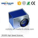 De Scanner van Galvo van Js2205 met 12mm Opening