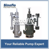 Vertikale Heißwasser-Zirkulation eingemachte Motor-Pumpe