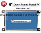 Ingebed win Ce OS PC van het Scherm van de Aanraking van 8 Duim