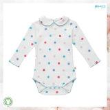 Niño Oneise del diseño de la ropa del bebé de la impresión de puntos nuevo