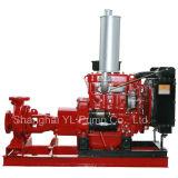 Motor diesel de una etapa centrífuga horizontal de la bomba de agua