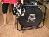 Кабель змейки каналов XLR меди 32 Skytone чисто тональнозвуковой с колесом