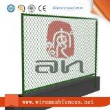 Belüftung-überzogener quadratischer Maschendraht-Kettenlink-Zaun