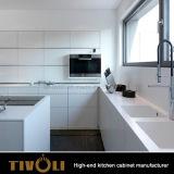Лакирующ шкаф Ktichen с островом кухни конструирует Tivo-D040h