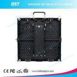 Alliage d'aluminium / acier géant P3.91 SMD2121 Écran d'affichage à LED fixé à l'intérieur pour l'aéroport