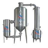Concentrador de la circulación del Solo-Efecto de la calefacción de vapor del acero inoxidable para la hierba