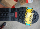 Chaussures résistantes de degré de sécurité industriel de chaussures de travail de pétrole de chaussures de sûreté de régfion boisée