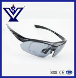 극화된 빛 Sunglass 방진 방어적인 군 전술상 고글 (SYSG-630)